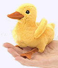 4 in. Duckling Finger Puppet