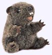 4 in. Groundhog Finger Puppet