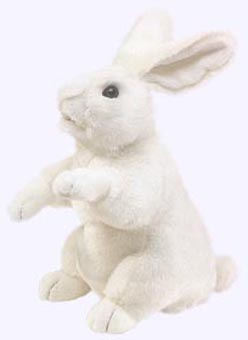 19 in. Standing Rabbit Puppet