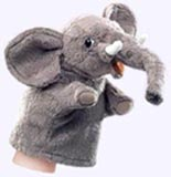 6 in. Little Hand Elephant Puppet