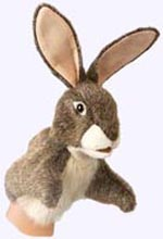 10 in. Little Hare Puppet