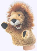 8 in. Little Lion Puppet