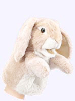 7 in. Little Lop Ear Rabbit Puppet