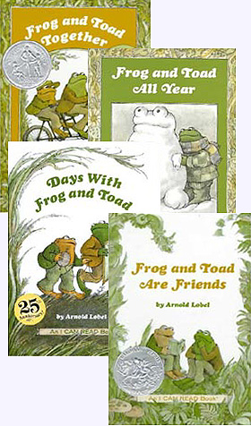 Collection of all four Frog and Toad Hardcover Picture Books; Days with Frog and Toad, Frog and Toad are Friends, Frog and Toad Together, and Frog and Toad All Year.