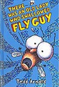 There Was An Old Lady Who Swallowed Fly Guy Hardcover Chapter Book