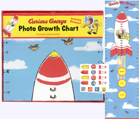 Curious George Photo Growth Chart
