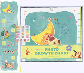 Nursery Rhymes Photo Growth Chart