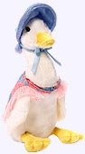 7 in.Jemima Puddle-Duck Plush Doll