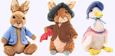 Classic Peter Rabbit,Floppsy,Benjamin and Jemima Plush Dolls