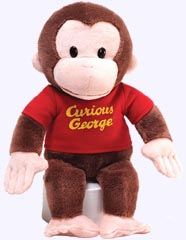 12 in. Curious George Plush