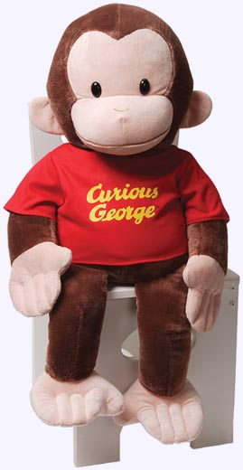 26 in. Jumbo Curious George Plush