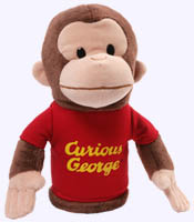 10 in. Curious George Stage Puppet