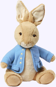 14 in. Classic Large Peter Rabbit Plush Storybook Character