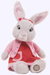 10 in. Lily Bobtail Plush Nick TV Character