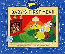 Goodnight Moon Baby's First Year Keepsake Calendar