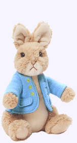 10 in. Medium Classic Peter Rabbit Plush Doll
