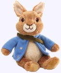 5 in. Peter Rabbit Plush Nick TV Character