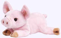 8 in. Small Plush Pig