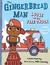 Gingerbread Man Fire Truck Book