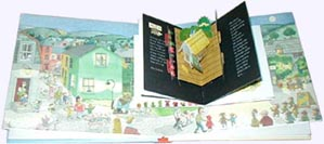 The Goldilocks Variations Hardcover Picture Book Open