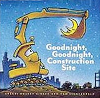 Goodnight, Goodnight, Construction Site Hardcover Picture Book