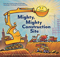 Mighty Mighty Construction Site Hardcover Picture Book