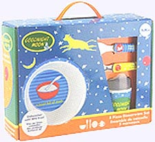 Goodnight Moon Feeding Set in Box