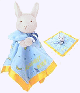 16 in. Goodnight Moon Blanket Bunny