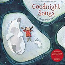 Goodnight Songs Hardcover Picture Book with CD