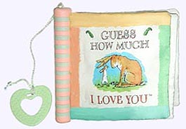 Guess How Much I Love You Soft Book with teether