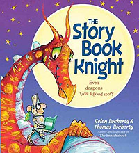 The Story Book Knight Hardcover Picture Book