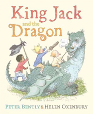 King Jack and the Dragon Hardcover Picture Storybook