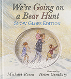 We're Going on a Bear Hunt Globe Edition Hardcover Picture Book