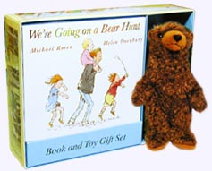 We're Going on a Bear Hunt Set - Paperback Book and 8 in. bear.