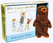 We're Going on a Bear Hunt Board Book and 6 in. Plush Bear