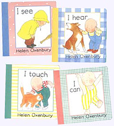 Set of four Helen Oxenbury's Baby Board Books