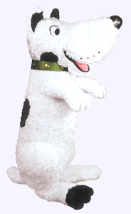 10 in. Harry the Dog Plush Doll