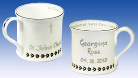 Heron First Communion Cup