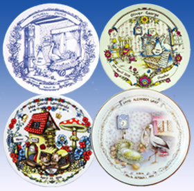 Heron Birth Plate Collection