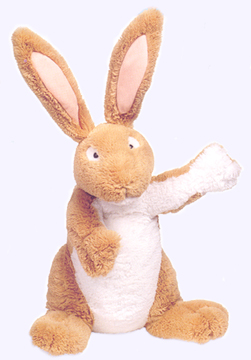 13 in. Poseable Nutbrown Hare Plush