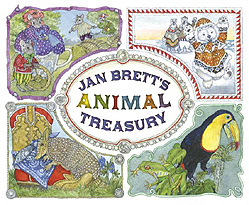 Jan Brett's Animal Treasury Hardcover Picture Book