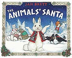 The Animals' Santa Hardcover Picture Book