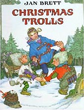 Christmas Trolls Hardcover Picture Book