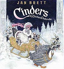 Jan Brett's Cinders Hardcover Picture Book