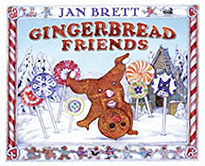 Gingerbread Friends Hardcover Picture Book