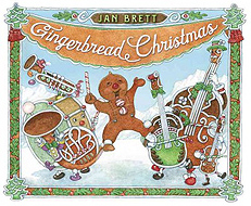 Gingerbred Christmas Hardcover Picture Book