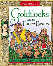Goldilocks and the Three Bears Hardcover Picture Book
