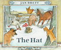 Jan Brett's The Hat Hardcover Picture Book