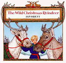 The Wild Christmas Reindeer Hardcover Picture Book