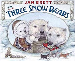 The Three Snow Bears Hardcover Picture Book
